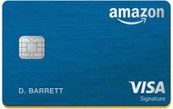 Amazo Prime Reward Visa Signature Card