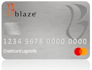 Blaze MasterCard Credit Card