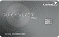 Capital One QuicksilverOne® Cash Rewards
