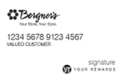 Bergner's Credit Card